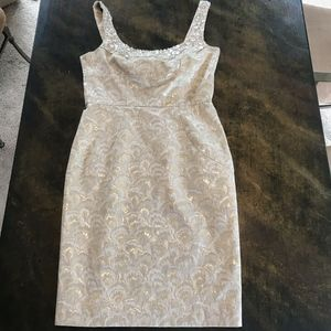 Maggy London SZ 8 Cocktail Party Wedding Formal Cr